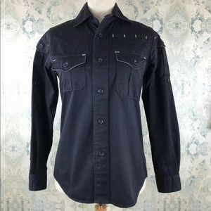 FWK Engineered Garments Black Button Down Shirt 1
